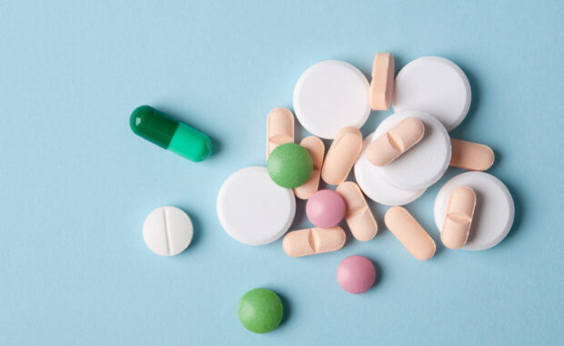 NSAIDs medication on a flat surface